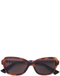 Женские коричневые солнцезащитные очки от Christian Dior