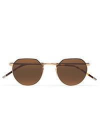 Мужские коричневые солнцезащитные очки от Dick Moby