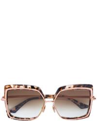 Женские коричневые солнцезащитные очки от Dita Eyewear