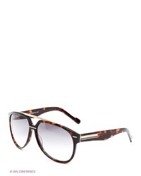 Мужские коричневые солнцезащитные очки от Enni Marco