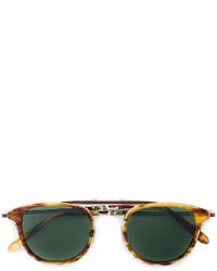 Мужские коричневые солнцезащитные очки от Garrett Leight