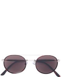 Женские коричневые солнцезащитные очки от Giorgio Armani