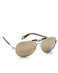Женские коричневые солнцезащитные очки от Givenchy