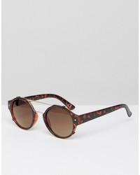 Мужские коричневые солнцезащитные очки от Jeepers Peepers