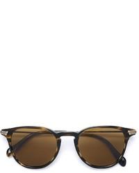 Женские коричневые солнцезащитные очки от Oliver Peoples