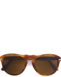 Женские коричневые солнцезащитные очки от Persol