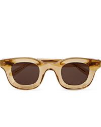 Мужские коричневые солнцезащитные очки от Rhude