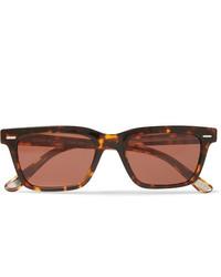Мужские коричневые солнцезащитные очки от The Row