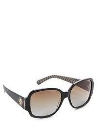 Женские коричневые солнцезащитные очки от Tory Burch
