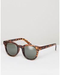Мужские коричневые солнцезащитные очки от Vans