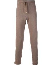 Коричневые спортивные штаны