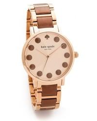 Женские коричневые часы от Kate Spade