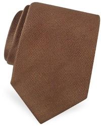 Мужской коричневый галстук от Forzieri