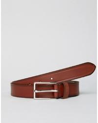 Мужской коричневый кожаный ремень от Esprit