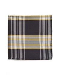 Коричневый нагрудный платок в шотландскую клетку