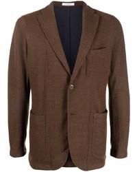 Мужской коричневый пиджак от Boglioli