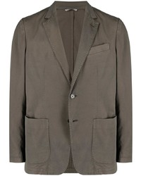 Мужской коричневый пиджак от Canali