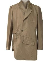 Мужской коричневый пиджак от Comme Des Garcons Homme Plus