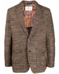 Мужской коричневый пиджак от Etro