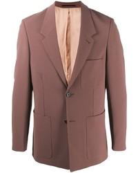 Мужской коричневый пиджак от Nanushka