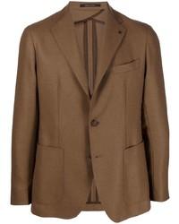 Мужской коричневый пиджак от Tagliatore