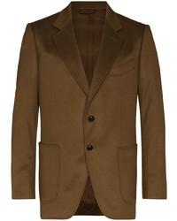 Мужской коричневый пиджак от Tom Ford
