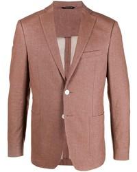 Мужской коричневый пиджак от Tonello