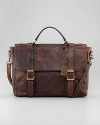 Коричневый портфель