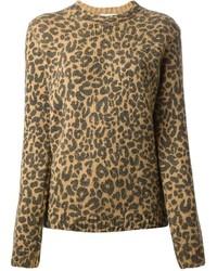 свитер с круглым вырезом medium 123199