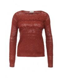 Женский коричневый свитер с круглым вырезом от Vero Moda