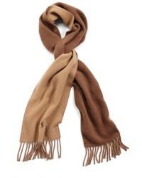 Коричневый шарф