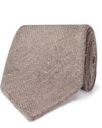 Мужской коричневый шерстяной галстук от Thom Sweeney