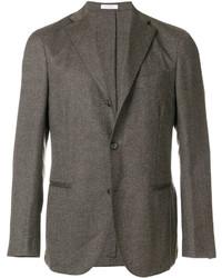 Мужской коричневый шерстяной пиджак от Boglioli