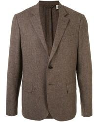 Мужской коричневый шерстяной пиджак от Kent & Curwen