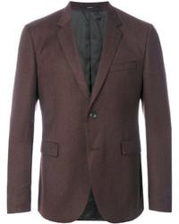 Мужской коричневый шерстяной пиджак от Paul Smith