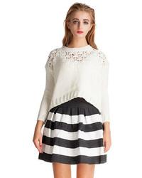 короткая юбка солнце в горизонтальную полоску original 1486259