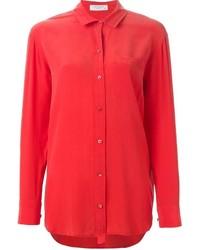 Красная классическая рубашка