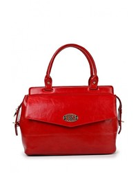 Женская красная кожаная большая сумка от Vera Victoria Vito