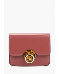 Красная кожаная поясная сумка от Topshop