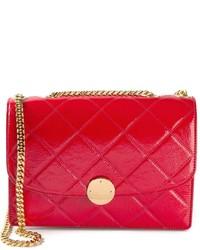 Женская красная кожаная стеганая сумка через плечо от Marc Jacobs
