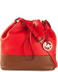 df8c1567df2e Купить женскую красную сумку-мешок MICHAEL Michael Kors - модные ...