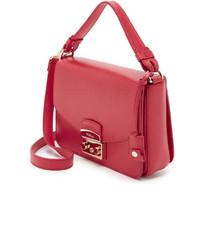 Женская сумка furla metropolis брендовая красная: 1 500