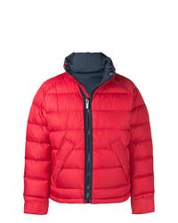 Купить мужскую красную куртку-пуховик Burberry - модные модели ... f3f277947f2