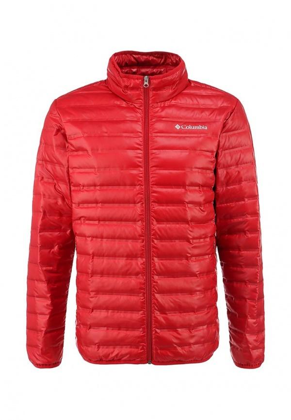 e993f6d410eb Мужская красная куртка-пуховик от Columbia   Где купить и с чем носить