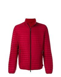 Мужская красная куртка-пуховик от Emporio Armani