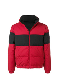 Мужская красная куртка-пуховик от Z Zegna