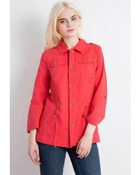 Женская красная куртка-рубашка от FiNN FLARE