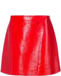 Красная мини-юбка от Courreges