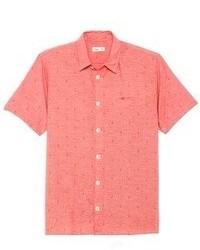 красная рубашка с коротким рукавом original 366588