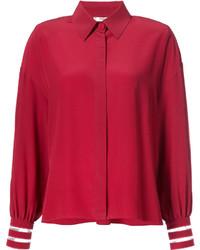 Женская красная рубашка от Fendi